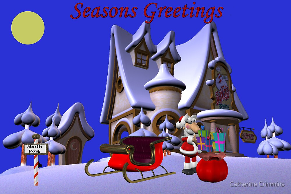 Seasons Greetings by Catherine Crimmins