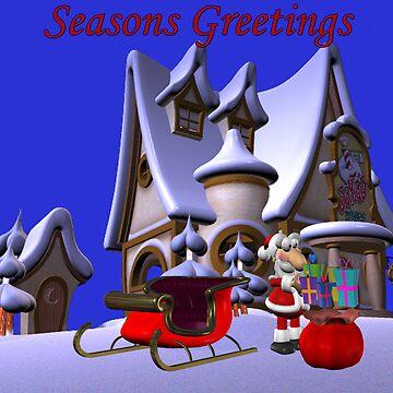 Seasons Greetings by catsbacknc
