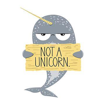 Not a Unicorn by leonarde