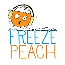 Free Speech - Freeze Peach  by jitterfly