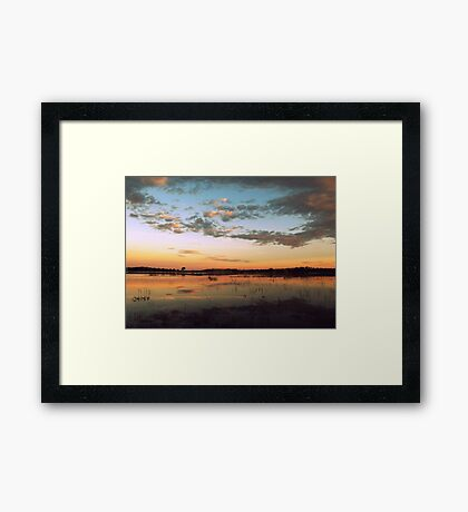 Warmer Framed Print