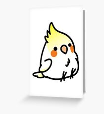 Chubby Cockatiel Scootaloo Greeting Card
