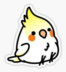 Chubby Cockatiel Scootaloo Sticker