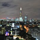 The Shard above Southwark by Alessandro Pinto