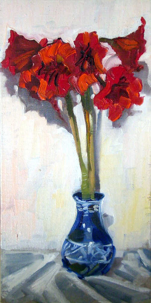 Lillies by Paul  Milburn