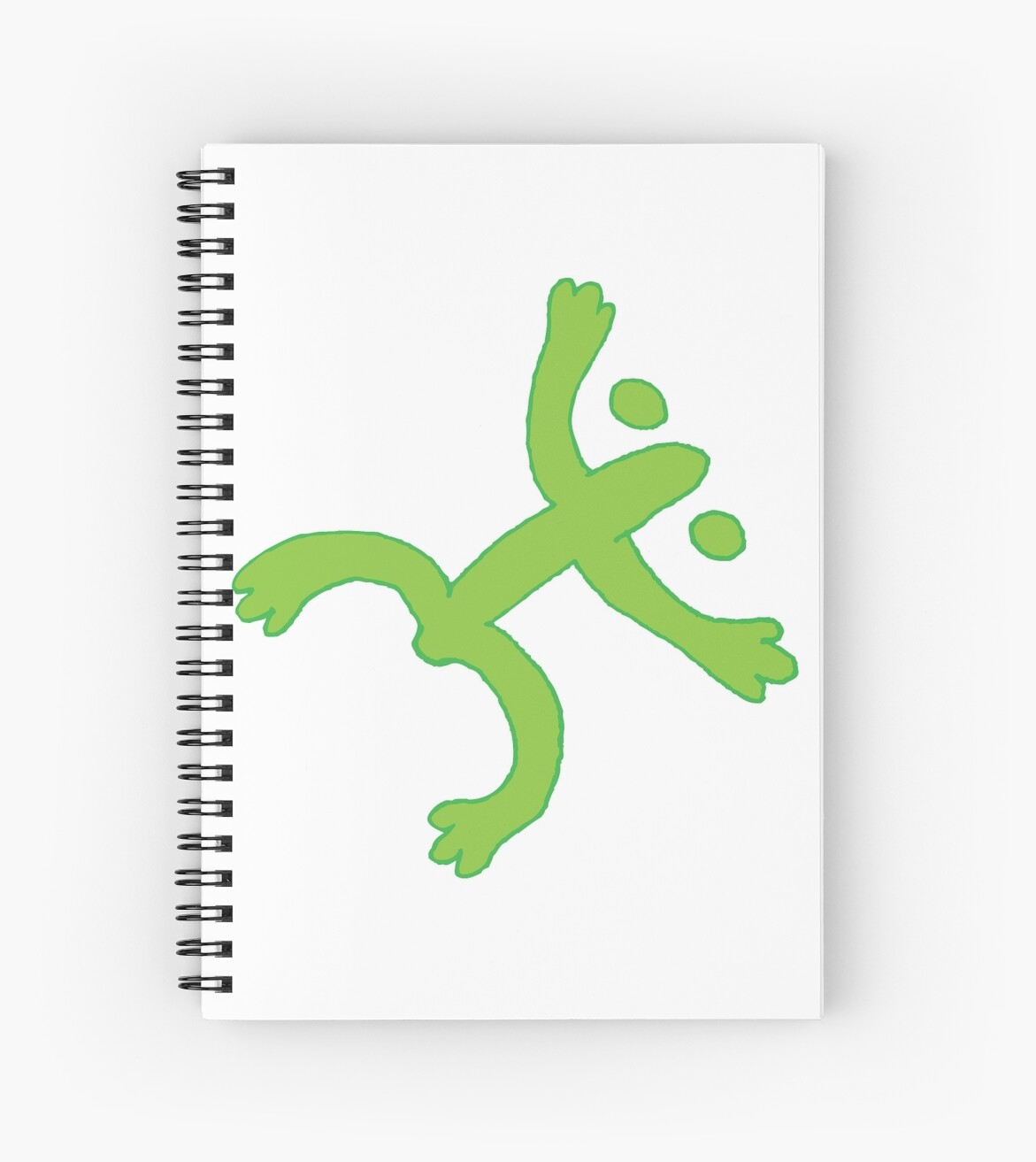 Taino Coqui Neon Spiral Notebooks By Cropfactorgroup Redbubble