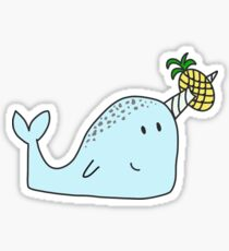 Norman the Narwhal Sticker