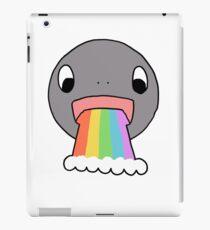Barfing Rainbows iPad Case/Skin