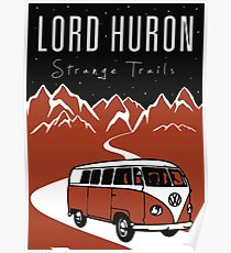 LORD HURON STRANGE TRAILS Poster
