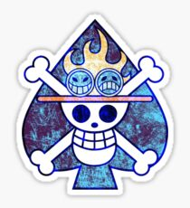 One Piece Ace Sticker