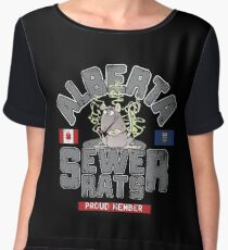 Official Alberta Sewer Rats Proud Member Chiffon Top