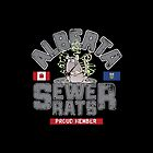 Official Alberta Sewer Rats Proud Member by BuzzArtGraphics
