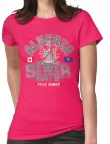 Official Alberta Sewer Rats Proud Member Womens Fitted T-Shirt