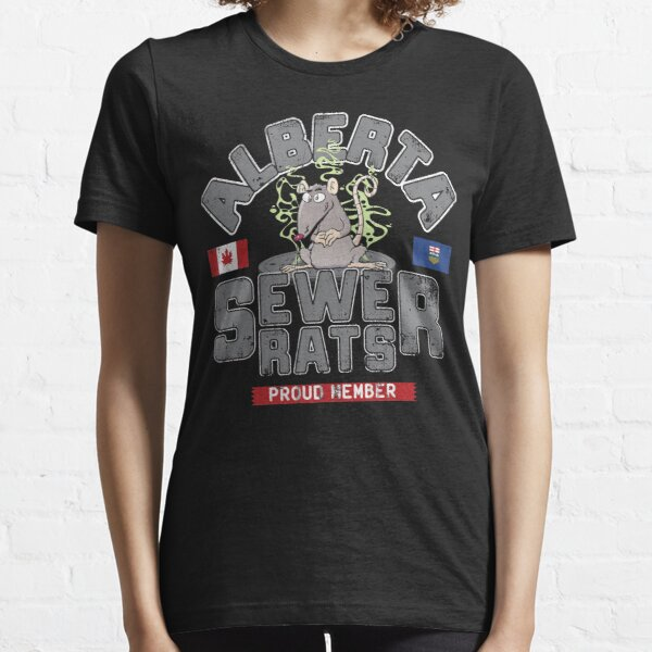 Official Alberta Sewer Rats Proud Member Essential T-Shirt