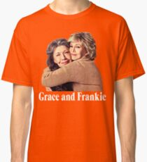 Grace and Frankie Hug 2 White Classic T-Shirt