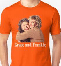 Grace and Frankie Hug 2 White Unisex T-Shirt