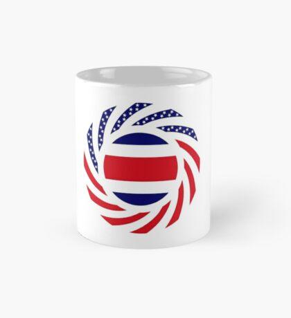 Costa Rican American Multinational Patriot Flag Series Mug