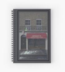 Bluebell at Baker Street Spiral Notebook