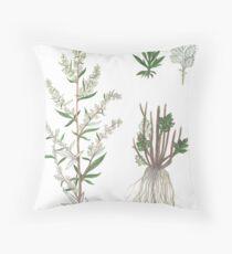 Chernobyl - Artemisia vulgaris Throw Pillow