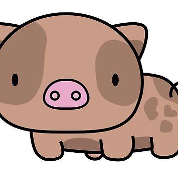 PIGU-BROWN by nonamemiu