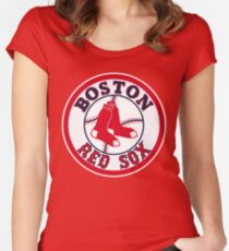 Boston Red Sox MLB Women's Fitted Scoop T-Shirt