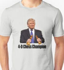 Trump - 4D Chess Champion Unisex T-Shirt