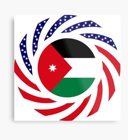 Jordani American Multinational Patriot Flag Series Metal Print
