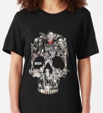 walking the dead Slim Fit T-Shirt