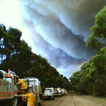 Bushfire  by Martinbryce