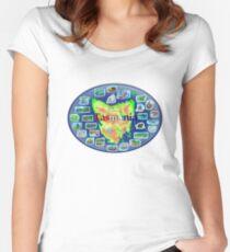 Tasmania Women's Fitted Scoop T-Shirt