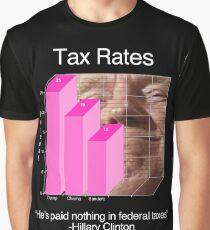 Trump - Tax Rates #2 Graphic T-Shirt