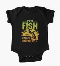 It's Fish O'clock Somewhere - Fishing Kids Clothes