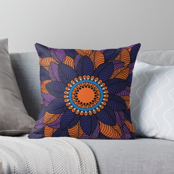 Pattern J Throw Pillow