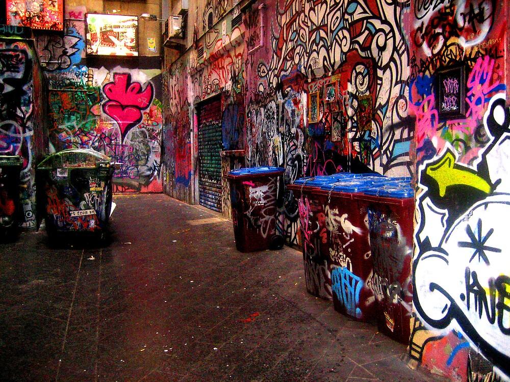 Alleys of colour by Gayathri  Ramachandran