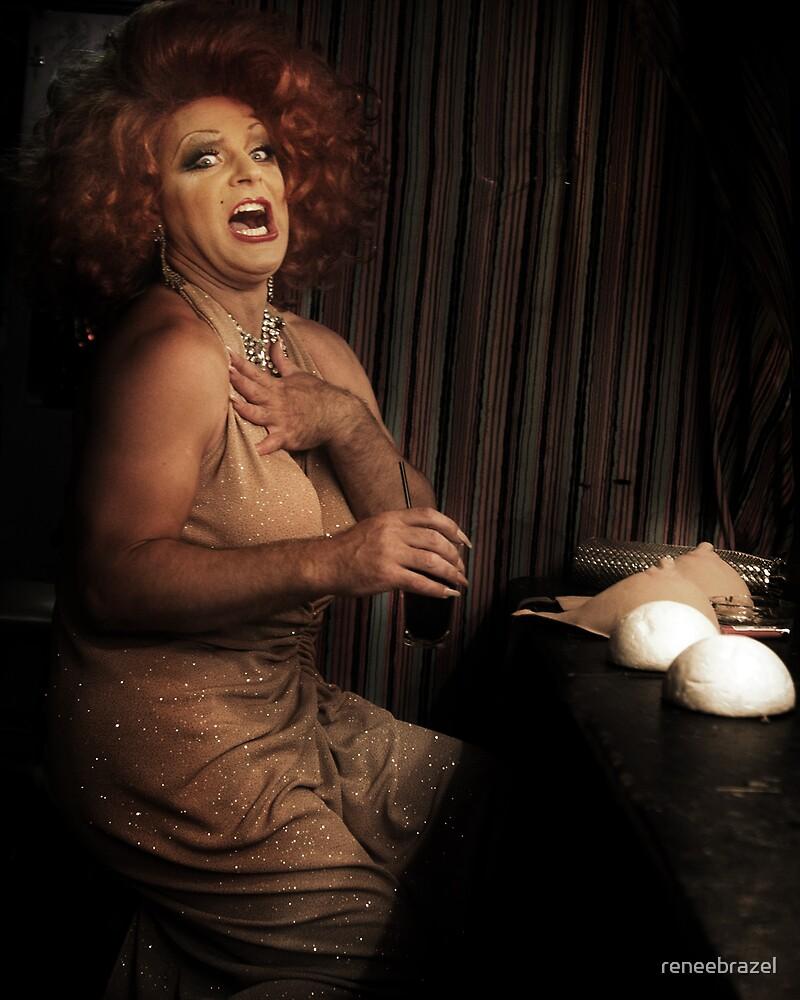 drag queen by reneebrazel