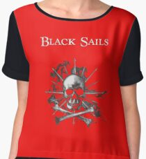 black sails Chiffon Top