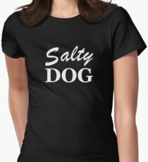 Salty Dog Womens Fitted T-Shirt