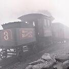 Mount Washington Cog Railway by Alex Preiss