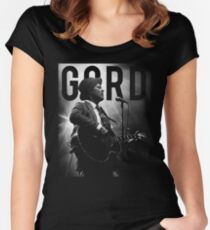 GORD DOWNIE Women's Fitted Scoop T-Shirt