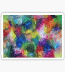 """""""In a Dream"""" original abstract artwork by Laura Tozer Sticker"""