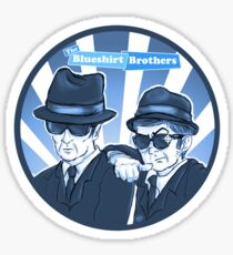 Blueshirt Brothers Sticker