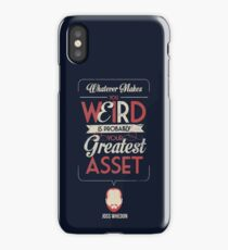 Whatever Makes You Weird iPhone Case
