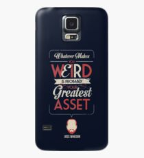 Whatever Makes You Weird Case/Skin for Samsung Galaxy