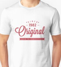 Since 1982 Original Aged To Perfection Unisex T-Shirt
