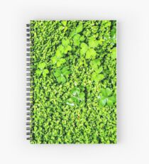 Vibrant Lush Green Vegetation Growth Spiral Notebook