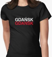 GDAŃSK Womens Fitted T-Shirt