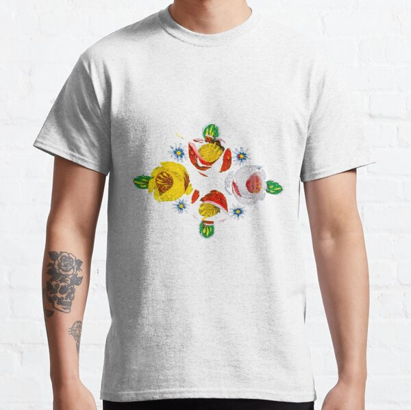 Canal flowers in the rain  Classic T-Shirt