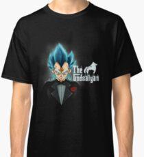 58f7361a0 God blue mafia Vegeta Classic T-Shirt