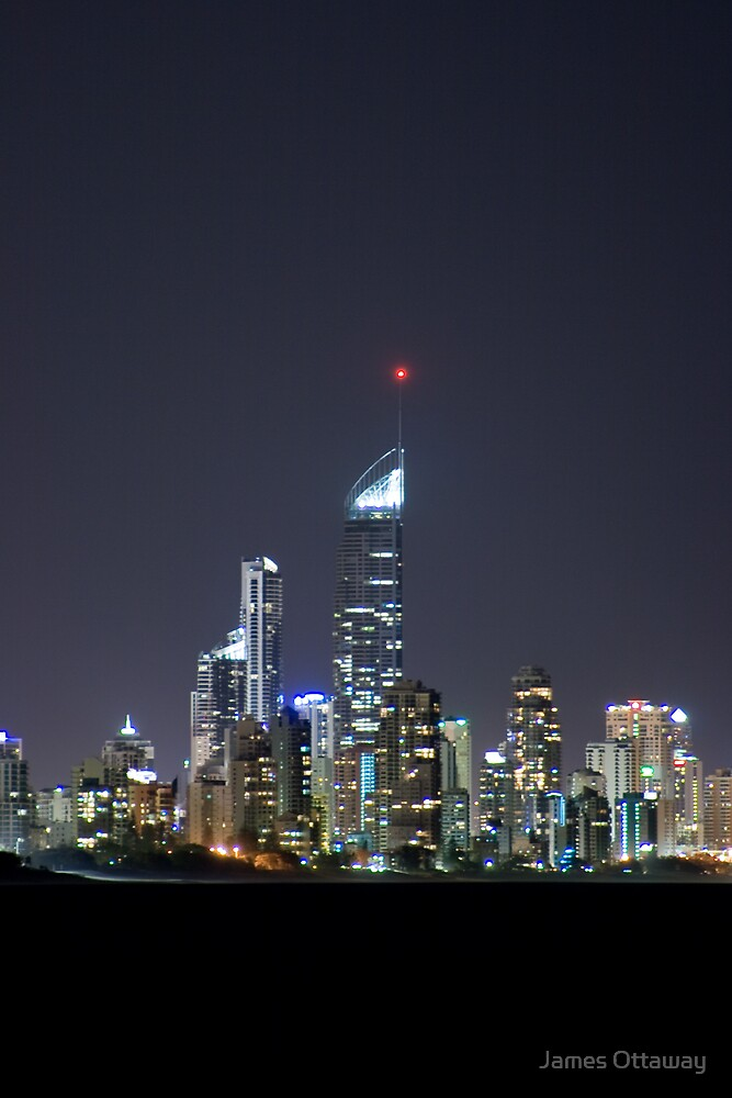 Q1 by Night by James Ottaway