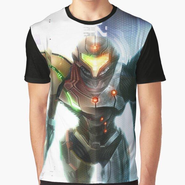 Metroid T-shirt graphique